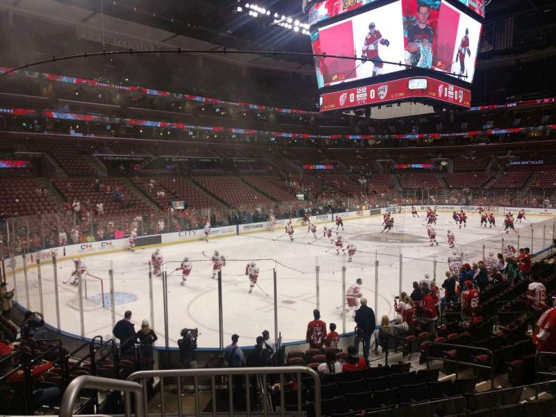 Seating view for BB&T Center Section 123 Row 14 Seat 3