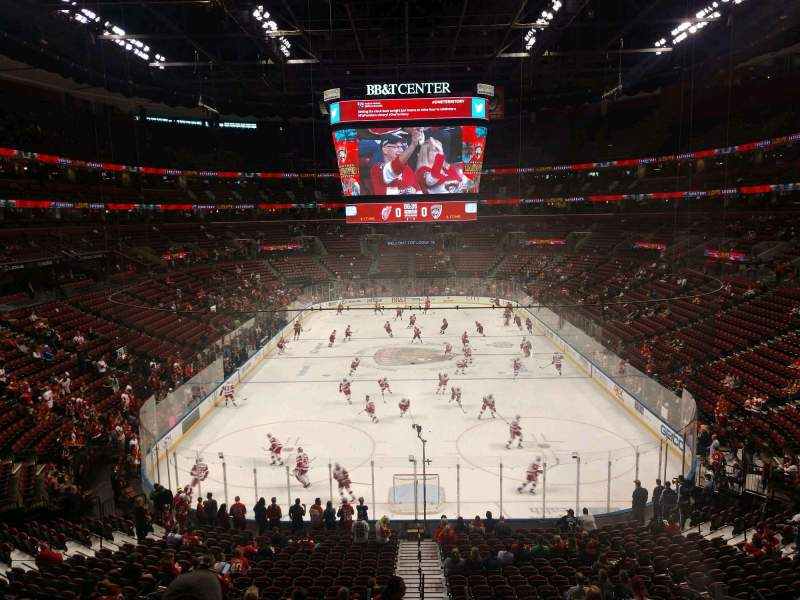 Seating view for BB&T Center Section 127 Row 25 Seat 12