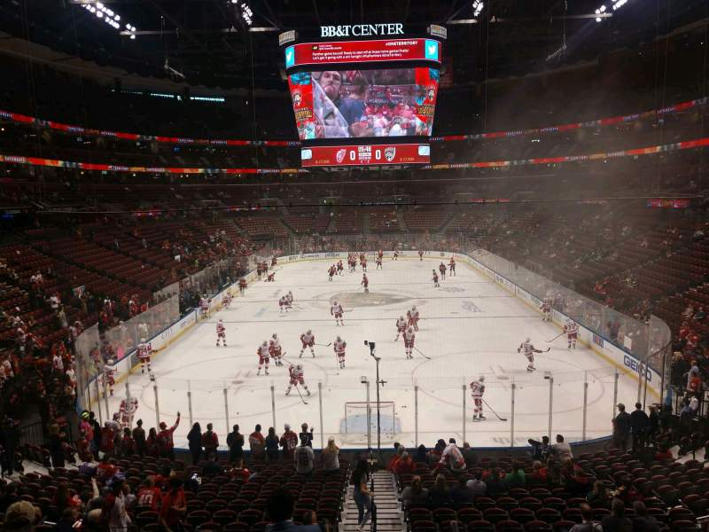 Seating view for BB&T Center Section 127 Row 20 Seat 11