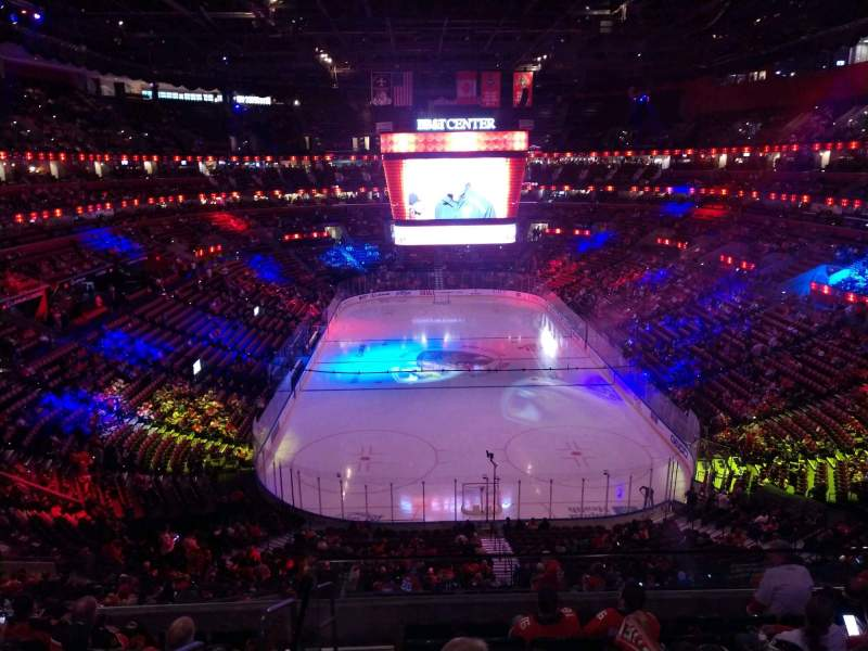 Seating view for BB&T Center Section CL27 Row 7 Seat 7