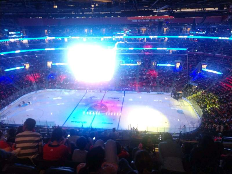 Seating view for BB&T Center Section 334 Row 13 Seat 4