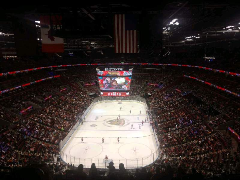 Seating view for BB&T Center Section 309 Row 11 Seat 10