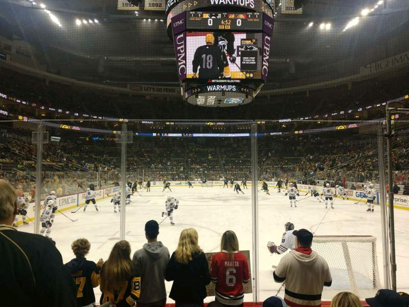 Seating view for PPG Paints Arena Section 107 Row E Seat 14