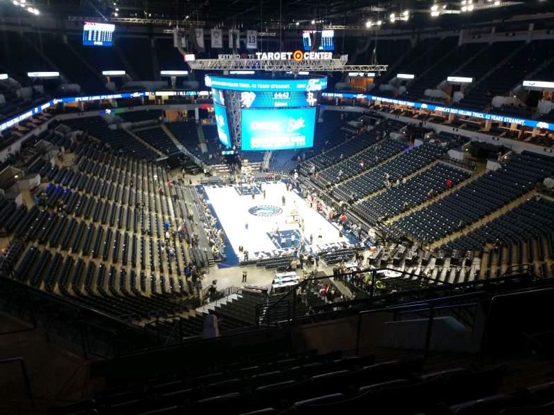 Target Center Section 203 Row N Seat 5 Minnesota Timberwolves