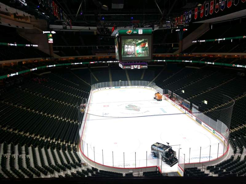 Seating view for Xcel Energy Center Section C37 Row 3 Seat 7