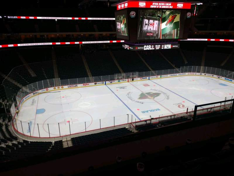 Seating view for Xcel Energy Center Section C29 Row 4 Seat 6