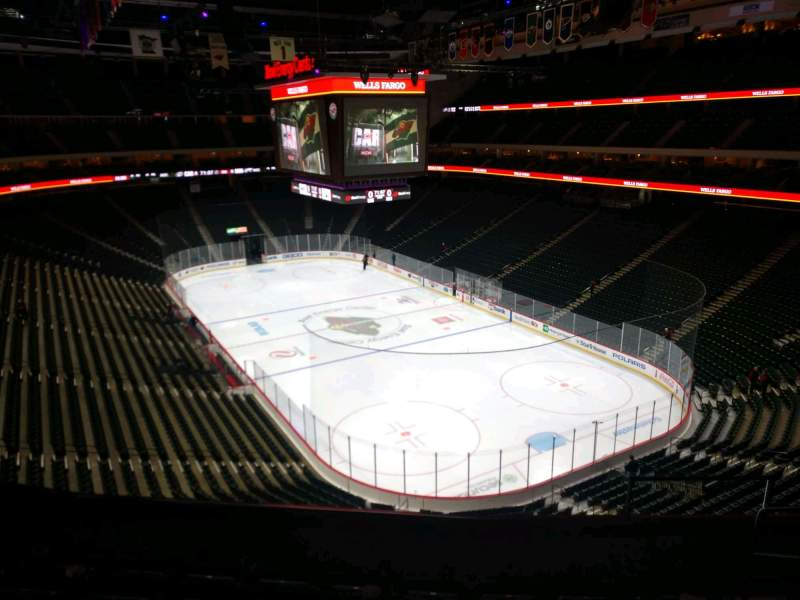 Seating view for Xcel Energy Center Section C19 Row 6 Seat 4