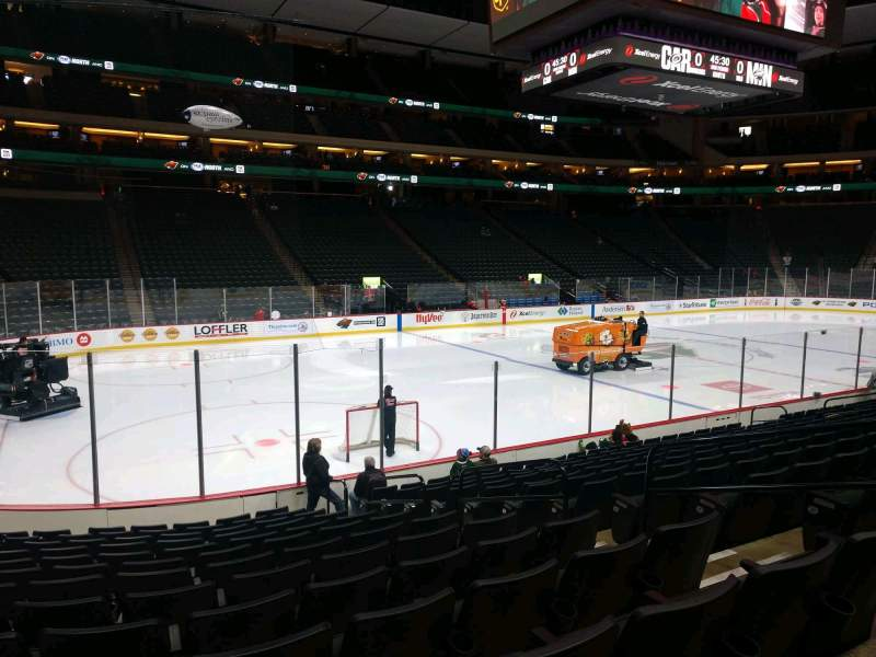 Seating view for Xcel Energy Center Section 106 Row 13 Seat 6