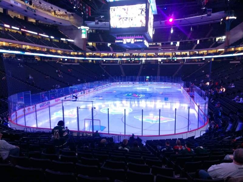 Seating view for Xcel Energy Center Section 122 Row 19 Seat 11