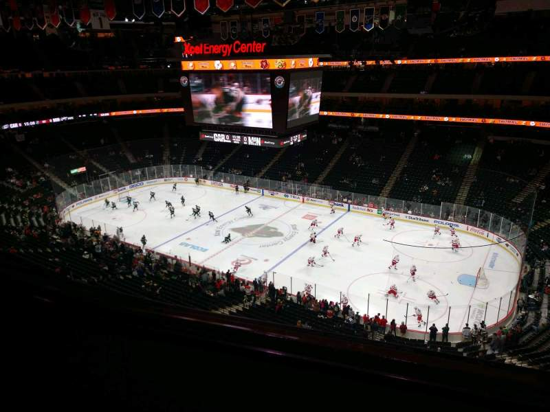Seating view for Xcel Energy Center Section 216 Row 2 Seat 18