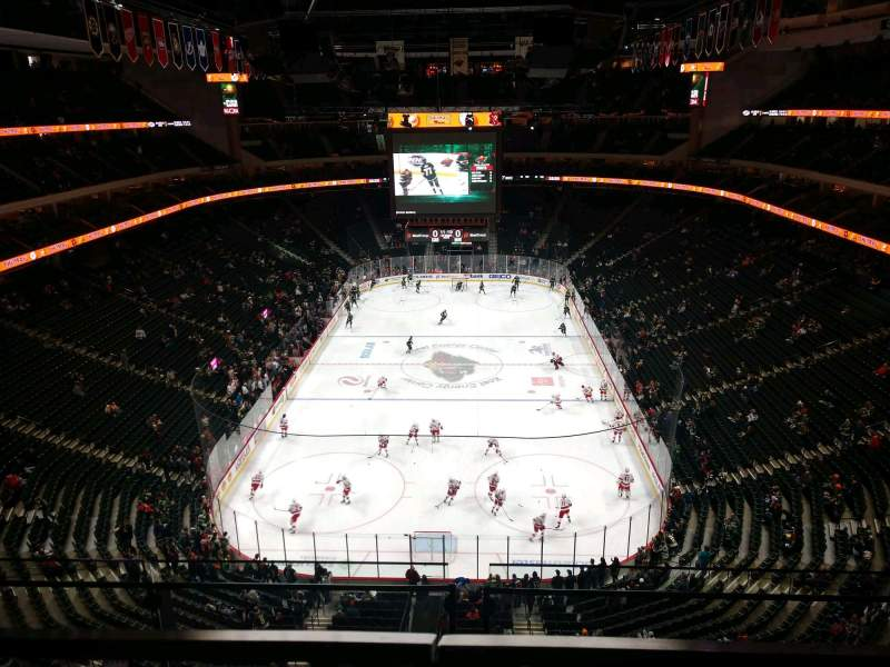 Seating view for Xcel Energy Center Section 211 Row 2 Seat 13