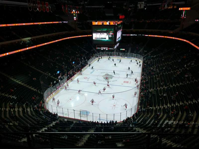 Seating view for Xcel Energy Center Section 210 Row 3 Seat 10