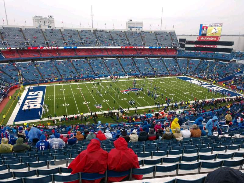 Seating view for Buffalo Bills Stadium Section 336 Row 25 Seat 14