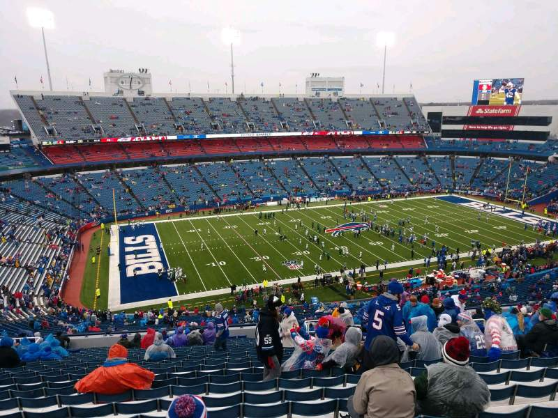 Seating view for Buffalo Bills Stadium Section 337 Row 26 Seat 11
