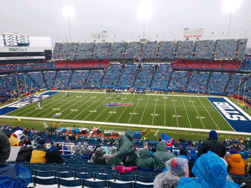 Seating view for Buffalo Bills Stadium Section 310 Row 18 Seat 17