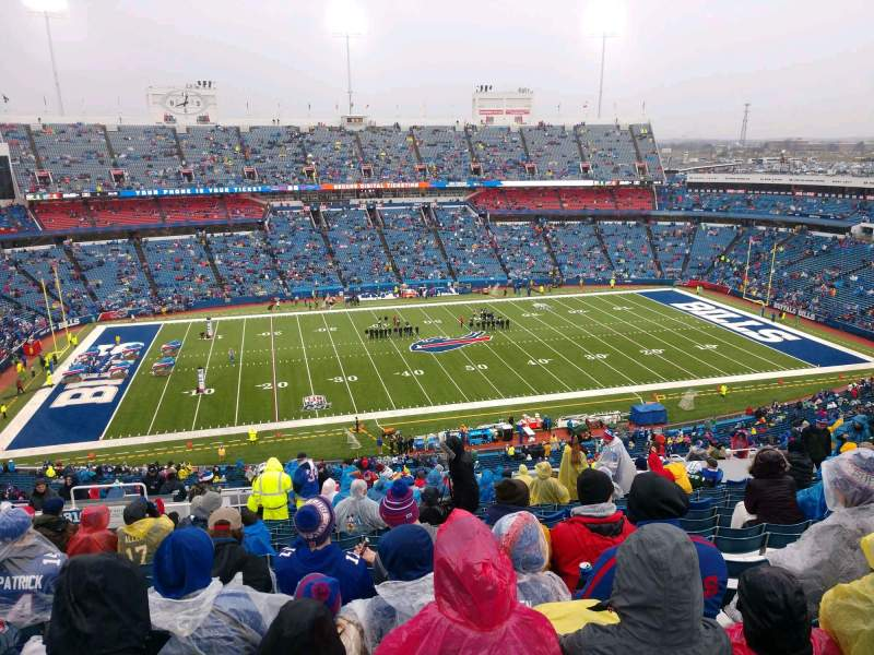 Seating view for Buffalo Bills Stadium Section 313 Row 27 Seat 22