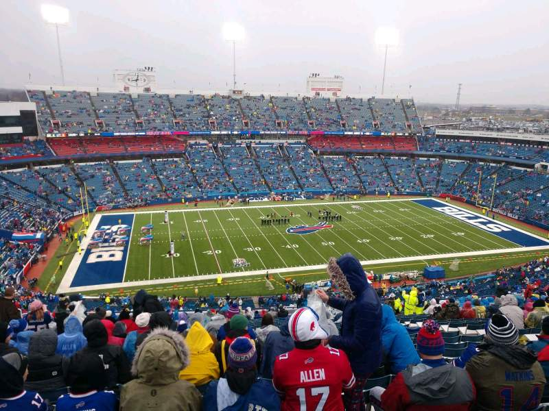 Seating view for Buffalo Bills Stadium Section 314 Row 24 Seat 11