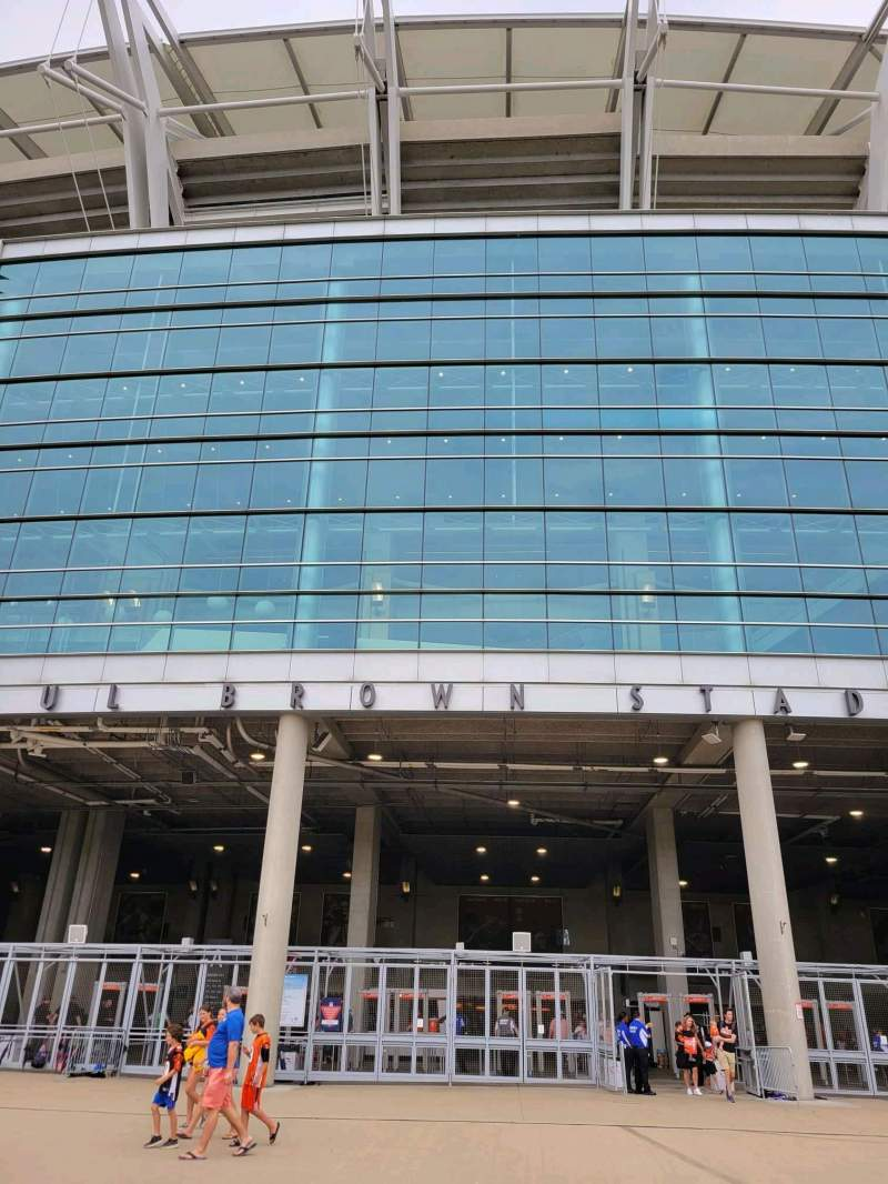 Seating view for Paul Brown Stadium Section Gate A