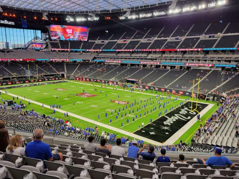 Seating view for Allegiant Stadium Section 231 Row 9 Seat 10