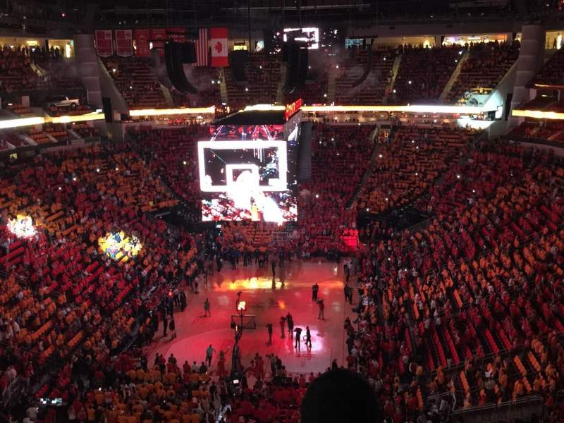 Toyota Center Section 417 Home Of Houston Rockets