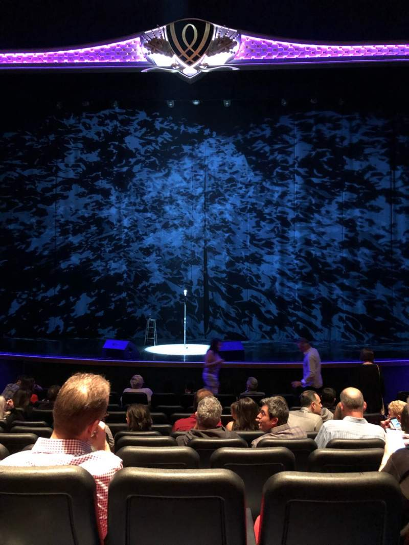 Seating view for Encore Theatre At Wynn Section ORCHC Row L Seat 107, 108