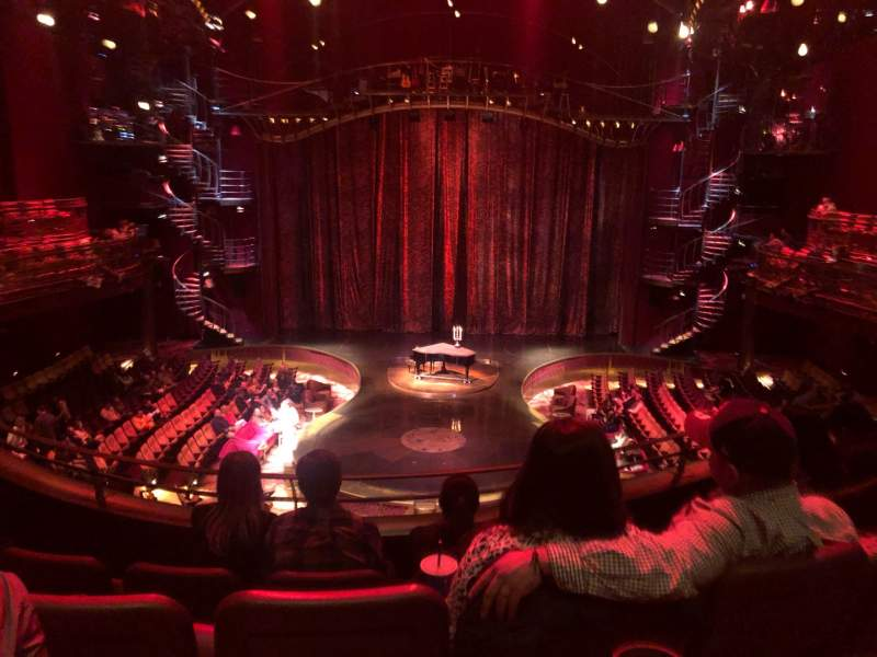 Seating view for Zumanity Theatre Section 303 Row DD Seat 10