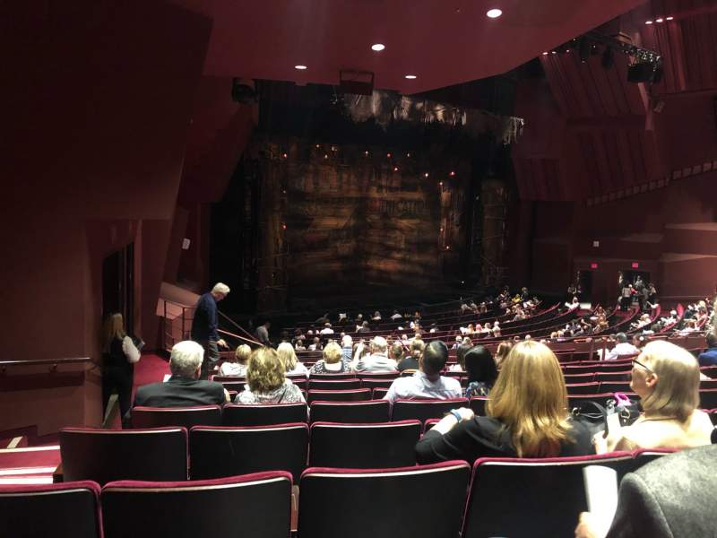 Seating view for Segerstrom Hall Section Orchestra Terrace Row M Seat 132