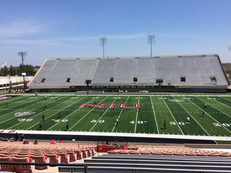 Seating view for Huskie Stadium Section C Row 31 Seat 15