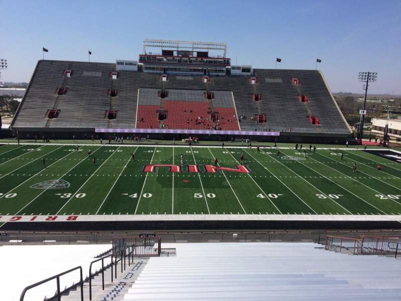 Seating view for Huskie Stadium Section M Row 41 Seat 20