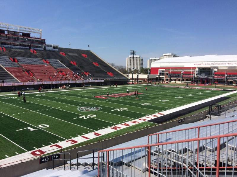 Seating view for Huskie Stadium Section Q Row 20 Seat 5