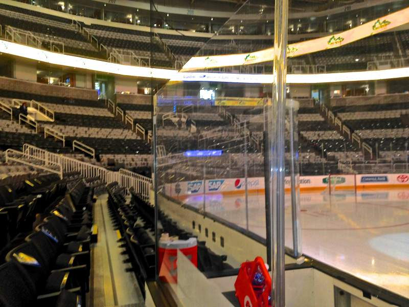Seating view for SAP Center at San Jose Section 101 Row 03