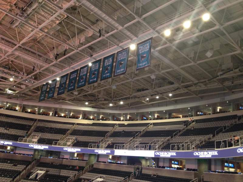 Seating view for SAP Center at San Jose Section 114 Row 22 Seat 08