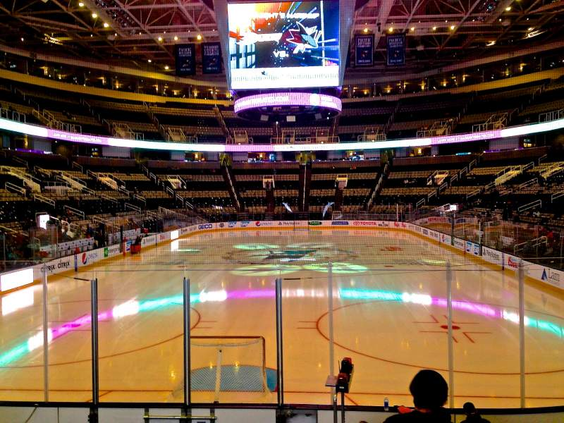 Seating view for SAP Center at San Jose Section 121 Row 04 Seat 17