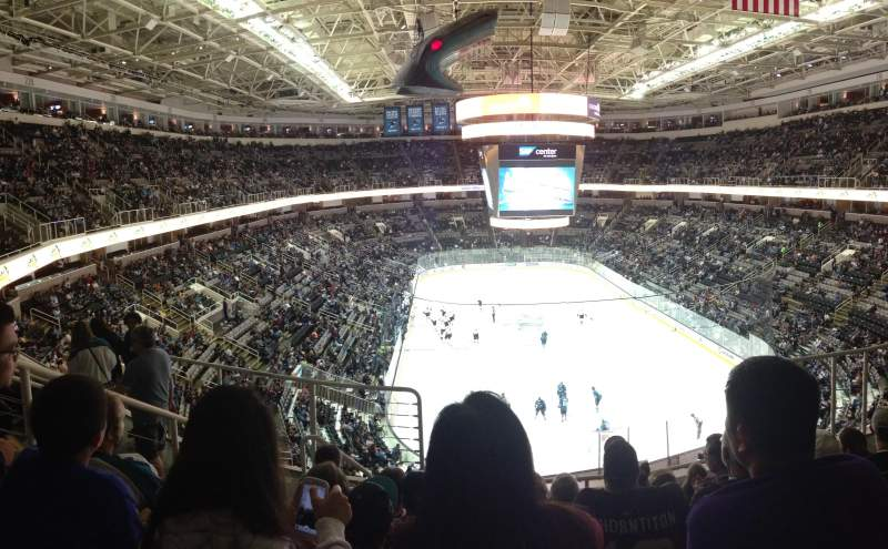 Seating view for SAP Center at San Jose Section 223 Row 06 Seat 07
