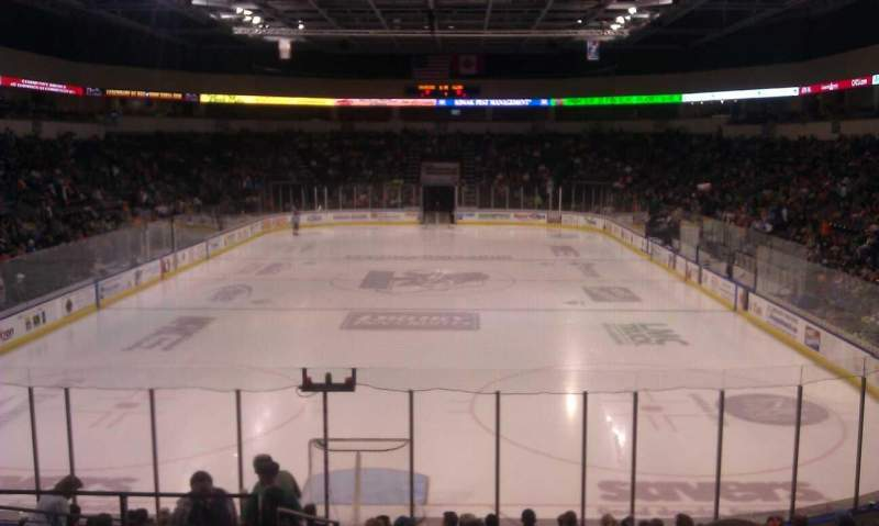 Seating view for Silverstein Eye Centers Arena Section 111 Row Q Seat 25