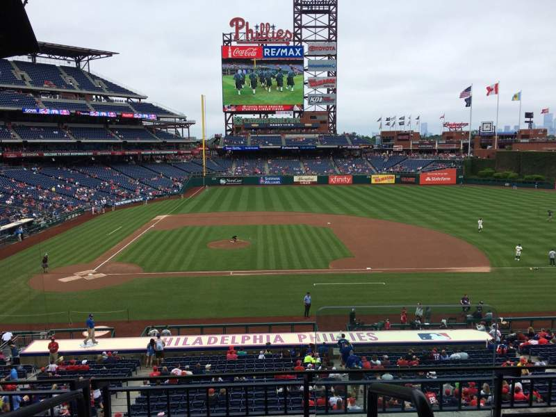 Seating view for Citizens Bank Park Section Suite 46 Row 2 Seat 1