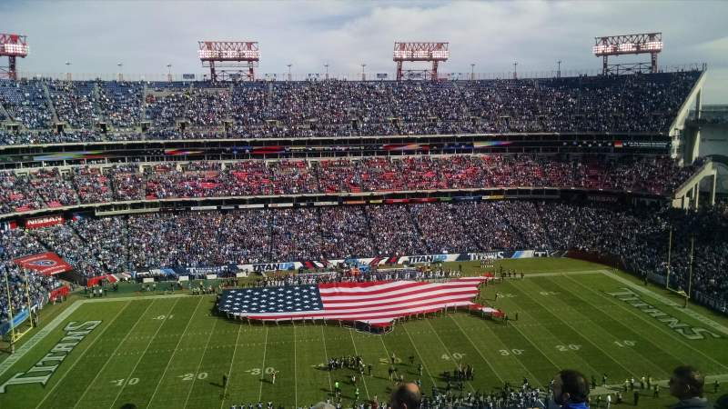 Seating view for Nissan Stadium Section 336 Row H Seat 8