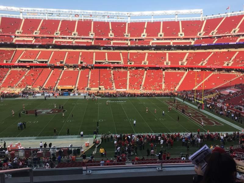 Levi's Stadium, section: C237, row: 5, seat: 20