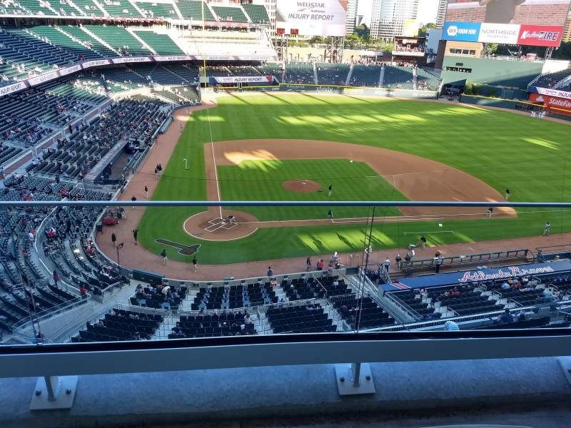 Seating view for Truist Park Section 323 Row 2 Seat 9