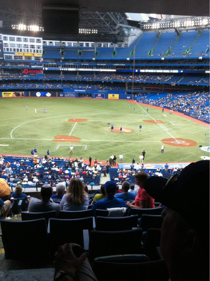 Seating view for Rogers Centre Section 229 Row 13 Seat 2