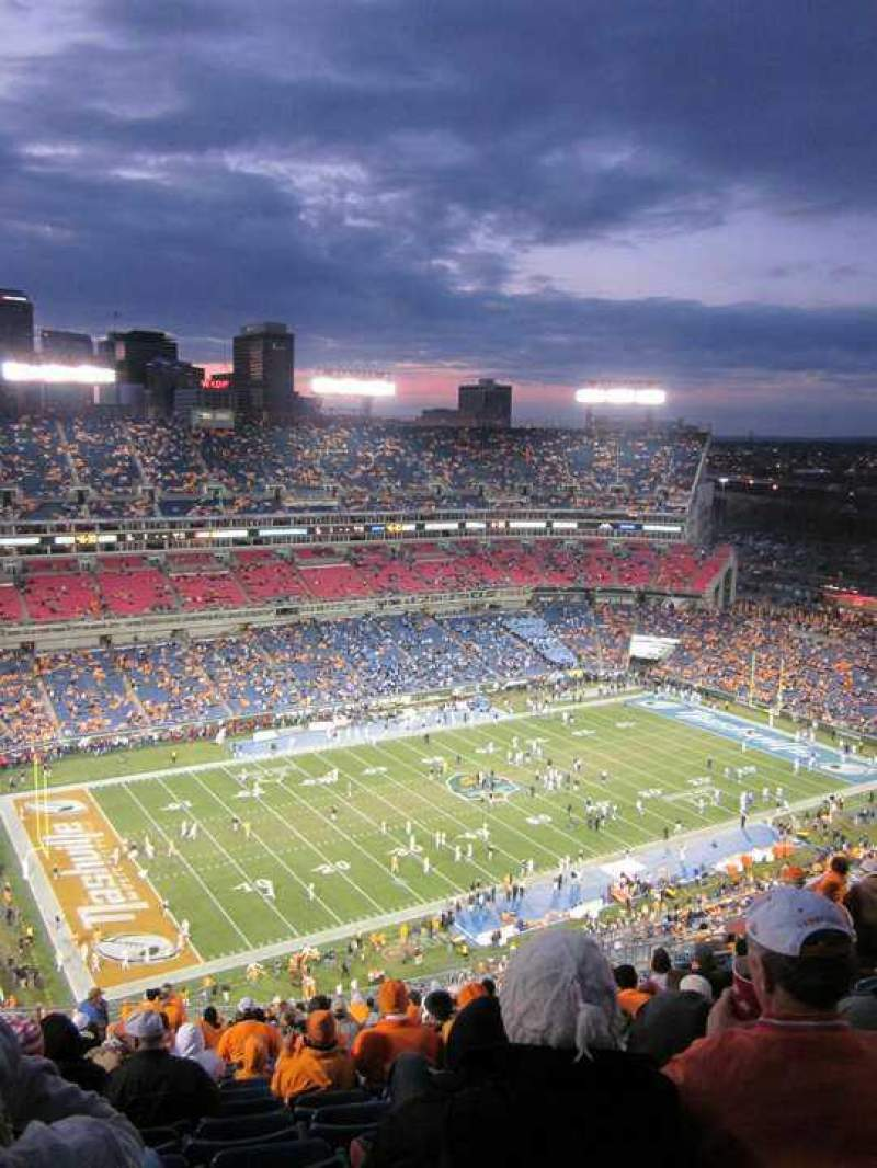 Seating view for Nissan Stadium Section 317 Row W Seat 17