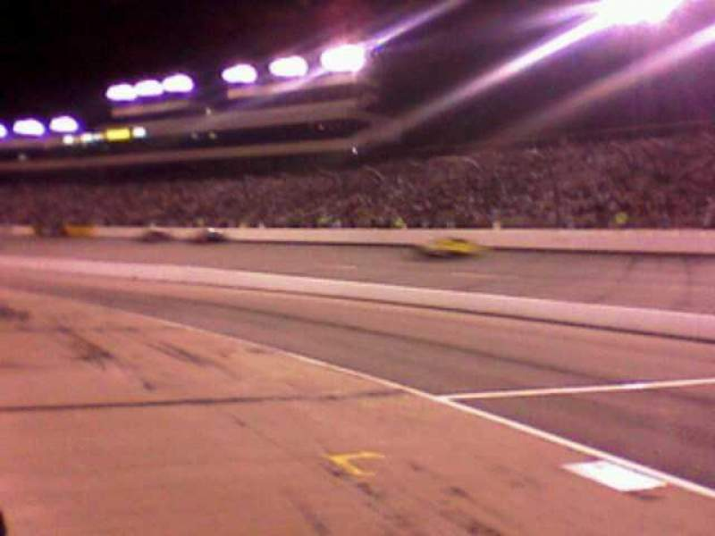 Seating view for Richmond International Raceway Section pit road