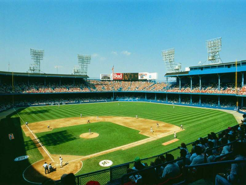 Old Tiger Stadium, home of Detroit Tigers