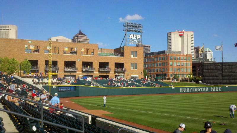 Seating view for Huntington Park Section 18 Row 8