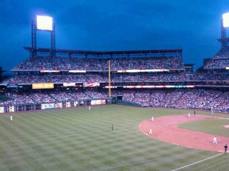 Seating view for Citizens Bank Park Section 237