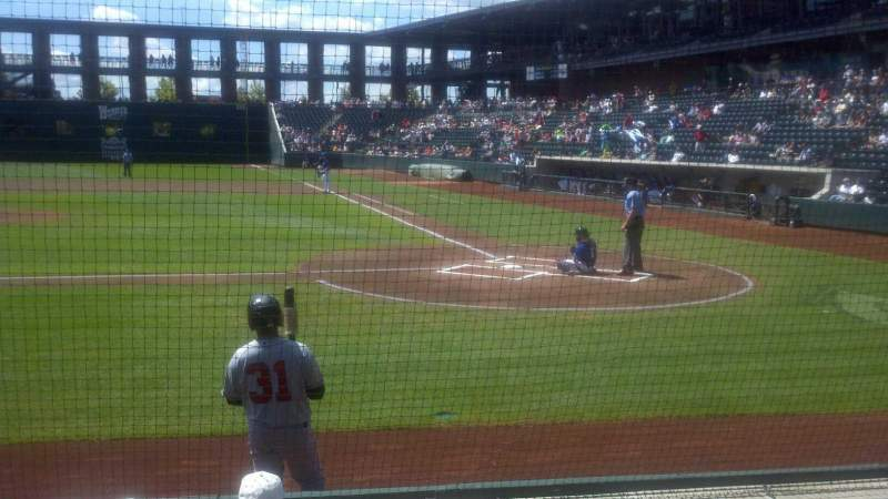 Seating view for Huntington Park Section 16 Row 6 Seat 1