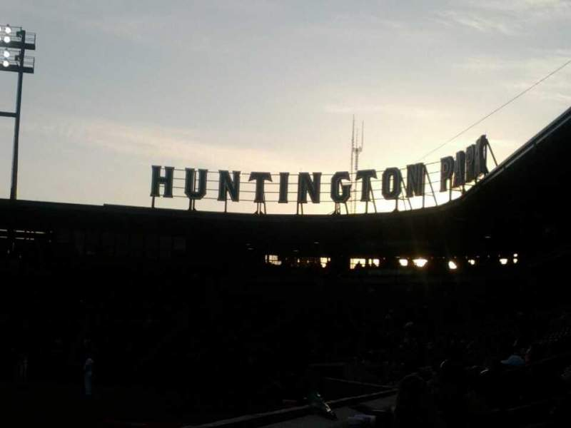 Seating view for Huntington Park Section 22 Row A Seat 20