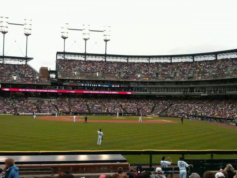 Seating view for Comerica Park Section 148 Row M Seat 23