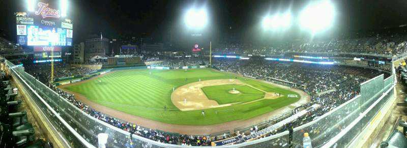 Seating view for Comerica Park Section 336 Row B Seat 4
