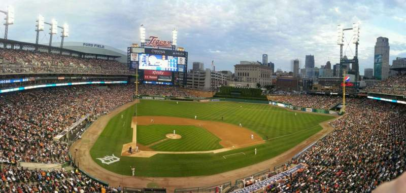 Seating view for Comerica Park Section 324 Row A Seat 2